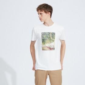 [マルイ] 【展開店舗限定】FLENCH PHOTO プリント半袖Tシャツ/アバハウス(ABAHOUSE)