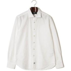 【60%OFF】スプレッドカラー 長袖シャツ ホワイト xl