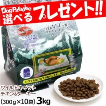 Wish ワイルド キャット チキン&ターキー 3kg(お取り寄せ商品)
