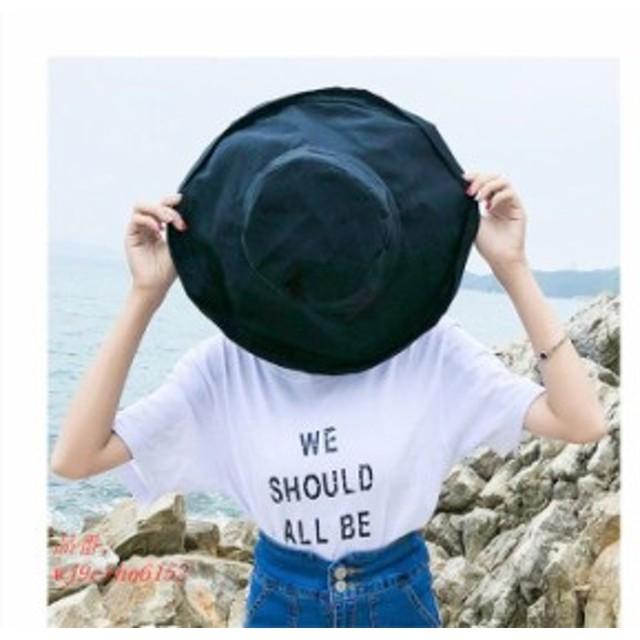 帽子 レディース 大きいサイズ UVカットハット 日よけ帽 おしゃれ 旅行 小顔効果 飛ばない 紐付き 登山 夏 折りたたみ 紫外線対策 つば広