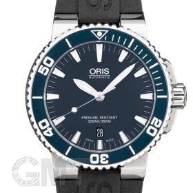 オリス アクイス デイト ブルー 733.7653.4155R ORIS