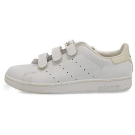 adidas(アディダス)STAN SMITH COMFORT スタンスミスコンフォート ベルト付きローカットスニーカー 白金 011618