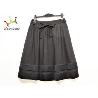 トゥービーシック TO BE CHIC スカート サイズ40 M レディース 黒 値下げ 20190912