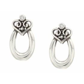 ブライトン レディース ピアス&イヤリング アクセサリー Alcazar Orbit Post Earrings Gift Box Crystal