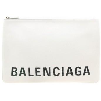 バレンシアガ BALENCIAGA ドキュメントケース ホワイト POUCH L VILLE 575215 0OTII 9000 WHITE BLACK