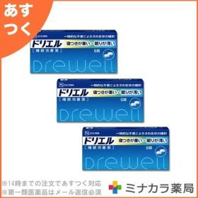ドリエル 6錠 市販の睡眠改善薬 (指定第2類医薬品)×3個セット