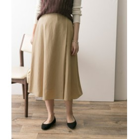 【URBAN RESEARCH:スカート】ラップフレアスカート