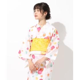 【20%OFF】 ハニーズ 浴衣 レディース オフホワイト系3 F 【Honeys】 【セール開催中】
