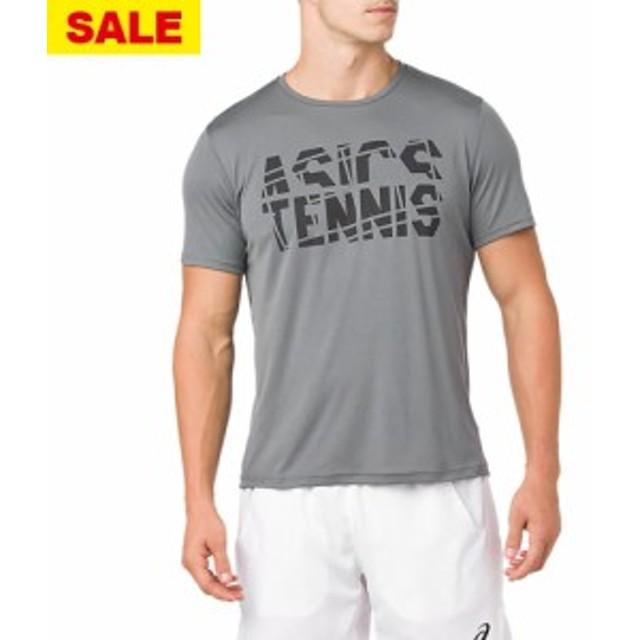 289598ccbcb060 【SALE】アシックス プラクティスショートスリーブトップ(2041A033-020)[asics MS. トップ スポーツ・アウトドア テニス  メンズウェア ...