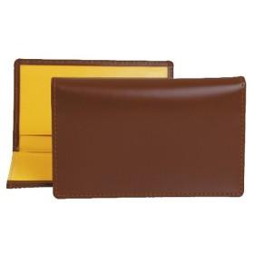 エッティンガー ETTINGER メンズ 名刺入れ(カードケース) ハバナブラウン ブライドルレザー LEATHER VISITING CARD CASE BH143JR HAVANA BRIDLE HIDE COLLECTION