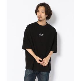 【60%OFF】 エルエイチピー Clut/クルト/刺繍ビッグTシャツ メンズ BLACK F 【LHP】 【セール開催中】