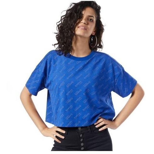 期間限定SALE 2/14 17:00〜2/17 17:00 リーボック公式 Tシャツ Reebok CL W リーボック プリント Tシャツ