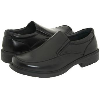 ディアースタッグス メンズ スリッポン・ローファー シューズ Brooklyn Slip-On Loafer Black Burnished Leather
