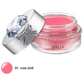 【ジルスチュアート】リラックスメルティリップバーム #01 rose pink (7g)