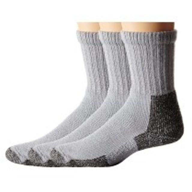 ソーロス メンズ 靴下 アンダーウェア Hiking Crew 3-Pair Pack Gray