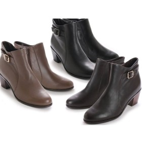 キスコ KISCO 9137 本革 ベルトデザインカジュアルショートブーツ カジュアル ブーツ 靴