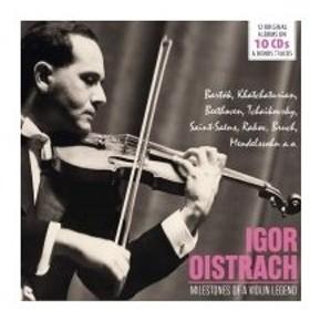 ヴァイオリン作品集 / イーゴリ・オイストラフ名演集 Milestones of a Violin Legend(10CD) 輸入盤 〔CD〕