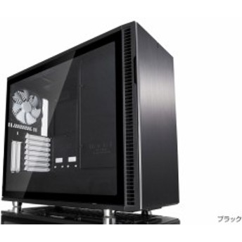 FractalDesign FD-CA-DEF-R6-BK-TG [FractalDesign Define R6 - Black - Tempered glass]スタイリッシュなケースデザイン。強化ガラスの