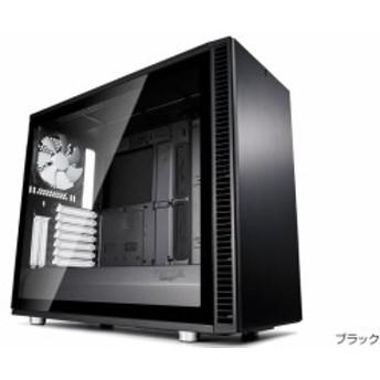 FractalDesign FD-CA-DEF-S2-BK-TGL [Define S2 - Black Tempered Glass]オープンレイアウトのケースデザイン。強化ガラスを採用したサ