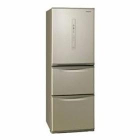 パナソニック 3ドア冷蔵庫 (335L・左開き) シルキーゴールド NR-C340CL-N(配送設置無料/時間指定不可)【納期目安:約2〜3週間】