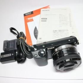 良品中古 NEX-5RL ブラック パワーズームレンズキット 中古本体 安心保証 即日発送 デジ1 SONY デジタルカメラ 本体