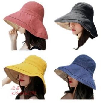 帽子 レディース UV カット 春夏 サイズ調整可能 日よけ 紫外線 可愛い おしゃれ つば広 100% UVハット ハット サファリハット UVケア 折