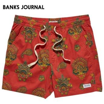 日本正規代理店品 BANKS JOURNAL バンクスジャーナル メンズ ボードショーツ BS0192 MAGNOLIA ELASTIC サーフトランクス
