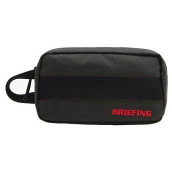 ブリーフィング(BRIEFING) シングルジップポーチ BRG191A10-011 (Men's)