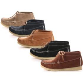 キスコ KISCO 8910 スエード ワラビー カジュアルブーツ カジュアル ブーツ 靴