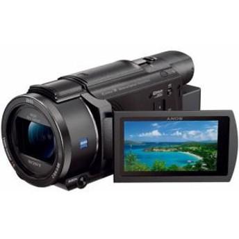 納期約2週間 お一人様1台限り FDR-AX60-B Handycam ハンディカム デジタル4Kビデオカメラレコーダー ブラック FDRAX60B