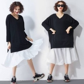 ワンピース 大きいサイズ 春ワンピース 春 韓国 ファッション レディース 韓国 レディース ファッション ワンピース 新作 トレンド おし