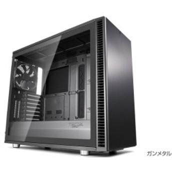 FractalDesign FD-CA-DEF-S2-GY-TGL [Define S2 - Gray Tempered Glass]オープンレイアウトのケースデザイン。強化ガラスを採用したサイ