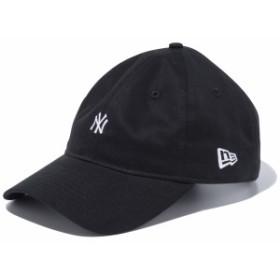 ニューエラ:9THIRTY クロスストラップ ノンウォッシュ コットン ツイル NY【NEW ERA カジュアル 帽子 キャップ】
