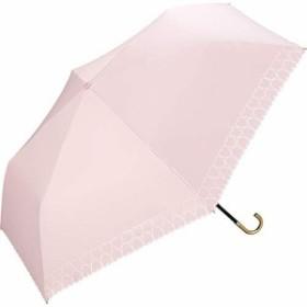 ワールドパーティー(Wpc.) 日傘 折りたたみ傘 ピンク 50cm レディース 傘袋付き 遮光ハートヒートカットミニ 801-7464 PK