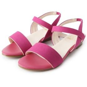 ピンクアドベ <日本製>歩きやすくて、汚れにくい 優秀サンダル レディース チェリーピンク(073) 35(23.5cm) 【pink adobe】