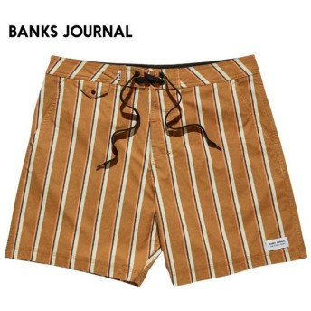 日本正規代理店品 BANKS JOURNAL バンクスジャーナル メンズ ボードショーツ BS0197 BELONGIL BOARDSHORTS サーフトランクス