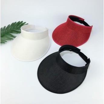 サンバイザー 帽子 CAP キャップ 男女兼用 メンズ レディース ワークキャップ UVカット ハット おしゃれ サファリハット UVカット帽子 紫外線 日よけ帽子