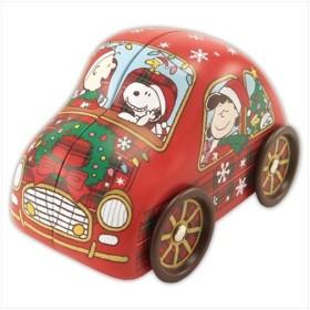 車缶inチョコチップパイ スヌーピー クリスマス お菓子 ピーナッツ ハート かわいい Xmasz プレゼント グッズ