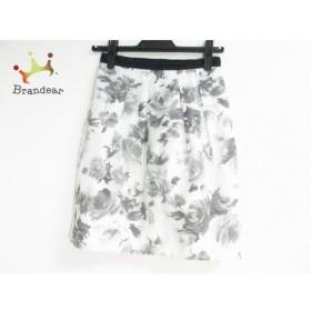 ジャスグリッティー スカート サイズ0 XS レディース 美品 ライトグレー×ダークグレー×グレー   スペシャル特価 20190911