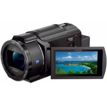 納期約2週間 FDR-AX45-B SONY ソニー Handycam ハンディカム デジタル4Kビデオカメラレコーダー ブラック