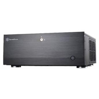 SILVERSTONE SST-GD06B 据え置き型ケース フロントUSB3.0 電源は奥行14cmまで対応