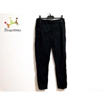 エムエムシックス MM6 パンツ サイズ42 L レディース 黒 スペシャル特価 20190912