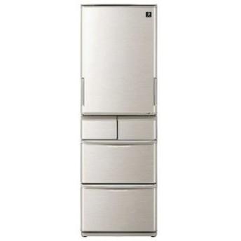 シャープ SHARP 5ドア冷蔵庫(412L・どっちもドア) SJ-W412E-S