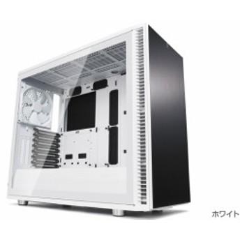 FractalDesign FD-CA-DEF-S2-WT-TGC [Define S2 - White Tempered Glass]オープンレイアウトのケースデザイン。強化ガラスを採用したサ