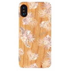iPhoneXS iPhoneX ケース Vicente ヴィセンテ ウッドケース Gizmobies ギズモビーズ Vintage Hawaiian Beige