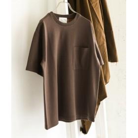 DOORS(ドアーズ) トップス Tシャツ・カットソー ダブルフェイス ビッグポケットTシャツ