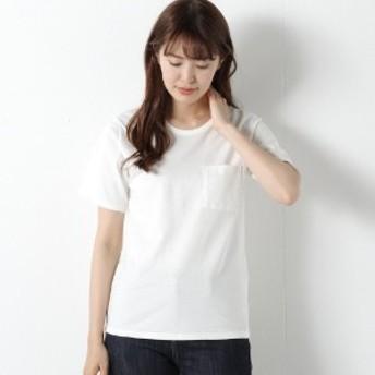 【汗染み防止&抗菌防臭】ポケット付きクルーネック半袖Tシャツ