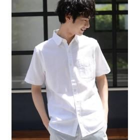 【55%OFF】 コーエン パナマレギュラーカラーシャツ メンズ WHITE SMALL 【coen】 【タイムセール開催中】