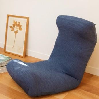 窓美人 ラッキークローバー 伸縮 座椅子カバー チェアカバー ロイヤルブルー 伸縮自在でしっかりフィット 撥