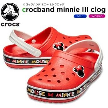 クロックス(crocs) クロックバンド ミニー 3.0 クロッグ(crocband Minnie 3.0 clog) メンズ/レディース/男性用/女性用[C/B]